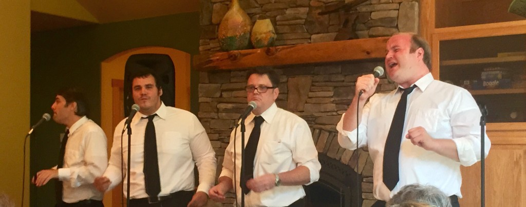 The Consolations perform for the Deer Creek Tribute Trail fundraiser, June 14, 2015.