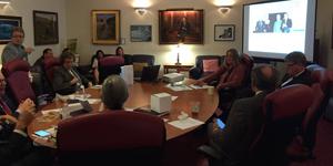 The Sierra Fund presenting to California Environmental Legislative Caucus, April 13, 2016